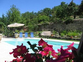 Villa with pool and amazing view, Malaucène