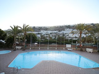 With pool, terrace and sea view