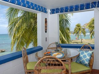 Ocean front studio condo   Point Village
