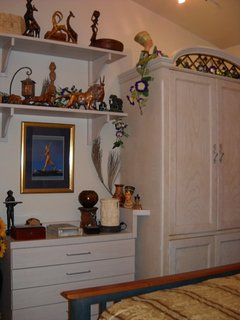 Egyptian Bedroom Closet