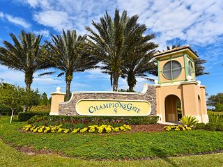 NEW 6BR 6bth Champions Gate home w/pool, spa & gameroom from $233 a night