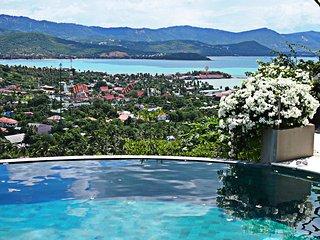 Luxury Ocean View 4 Bedroom Pool Villa including Breakfast, Airport Transfer, Choeng Mon