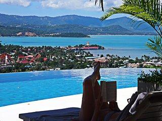 Luxury Ocean View 5 Bedroom Pool Villa including Breakfast, Airport Transfer, Choeng Mon