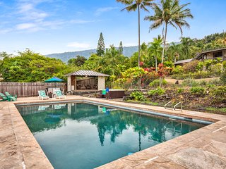 Both 20 x 40  heated salt pool and hot tub are professionally maintained  weekly