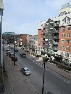Street view from Waterfront Place in downtown Halifax.
