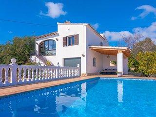 Villa Lliri en Benissa,Alicante para 7 huespedes