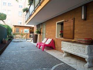 B&B Pasqualon camera matrimoniale/uso singola Michelina Room con bagno privato
