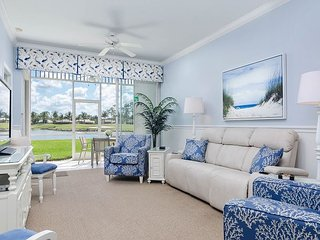 Greenlinks 1414 - Best View in Lely, Renovated Coastal Golf Villa!