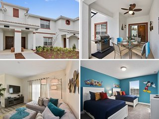Championsgate Resort - 4BD/3BA Town House - Sleeps 8 - Gold, Sterling
