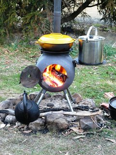 OzPig, Outdoor Cooking made easy, Hire included with Eco Hot Tub Hire.