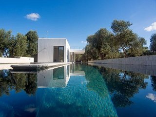 A chic, contemporary, architect-designed villa near the beaches of Puglia