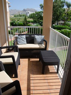Large three bedroom apartment, close to a beautiful beach with shared pool