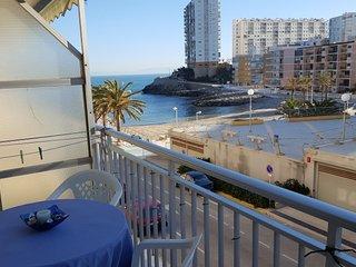 Espectacular apartamento frente al mar para 7 personas