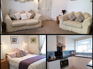 SUNNYDECK. Close to beach, town & estuary. Off road parking. Free WiFi. Sleeps 2, Exmouth