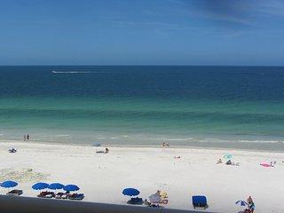 SEA GATE 506 Beach Front  3BED/2BATH  Indian Shores Spacious Top Floor Condo