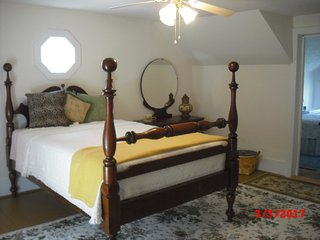 First upstairs bedroom.