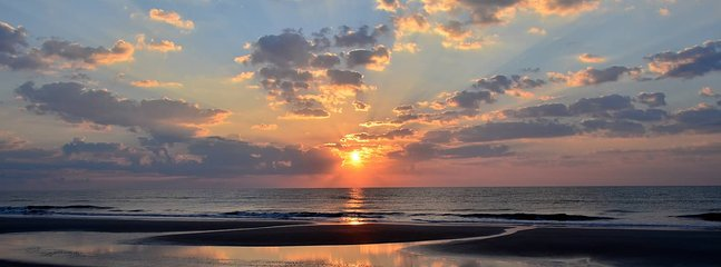 Start each morning with the sunrise over the beautiful waters of the Atlantic.