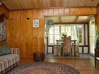 Log cabin in the north woods...Lake Michigan beach...open May 25 to October 10, Saint Ignace