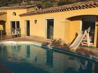 Magnifique villa 10 pers, piscine vue panoramique