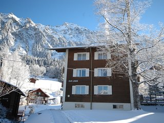 Breathtaking views, mountain air, a peaceful get-away; great for families, Wengen