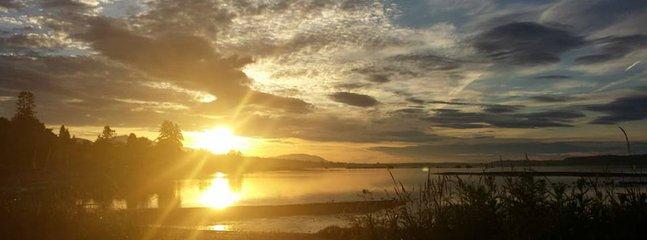 Sunrise in the bay