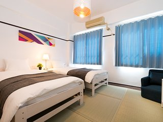 Easy Access to Namba/USJ★Stylish Room for 2P★30