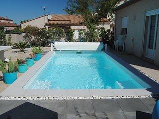 Charmante VILLA tout confort avec piscine, entre mer et montagne