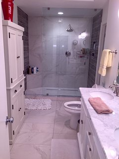 Master bathroom off of the master bedroom on the second floor