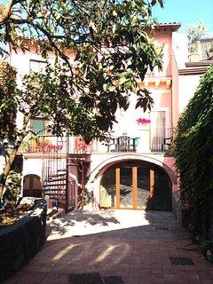 inner courtyard and garden