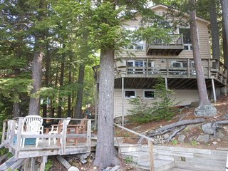 House on Lake Winnipesaukee with private dock and spectacular views!, Meredith