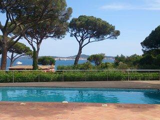 Villa plein sud belle vue mer et St Tropez