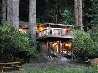 Riverwood Cottage - Pet-Friendly, Riverfront, Hot Tub (Last Minute Specials!)