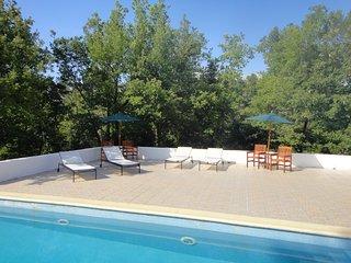 Tranquil Villa du Temps sleeps 9, Signes