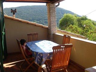 Bilocale con terrazza panoramica