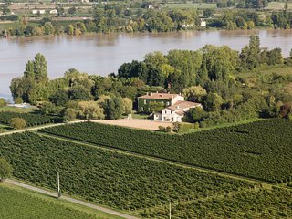 En plein coeur des vignobles de Bordeaux