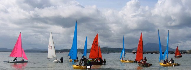 Sailing Downings Beach