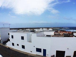 Casa Filosofía con buenas vistas al mar, Caleta del Caballo