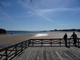 Espectacular ático en Ares, alquiler en la playa