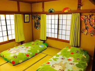 TOTORO HOUSE★TRAIN 2mins!★FAST WiFi★2xTOILETS★AIRPORT DIRECT!