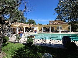 Villa provençale au calme absolu