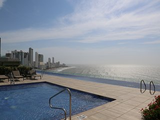Car024-Brand new 2 bedroom apartment with views in the H2 building, Cartagena