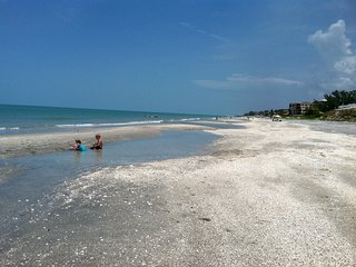 Island living at it's best.  Beach just steps away.  On canal with dock., Manasota Key