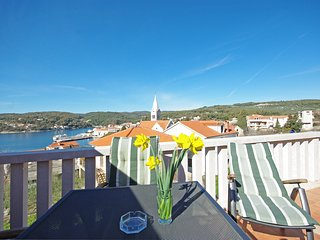 Apartments Villa Rose - Standard Studio with Sea View Shared Terrace (A2 bijeli)