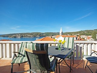 Apartments Villa Rose - Economy Studio with Sea View Shared Terrace (A3 crveni)