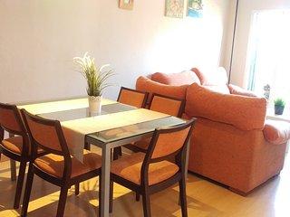 Hermoso apartamento con jardín