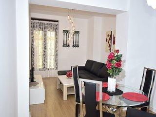 Romantico apartamento en el centro de Granada para 4 viajeros.
