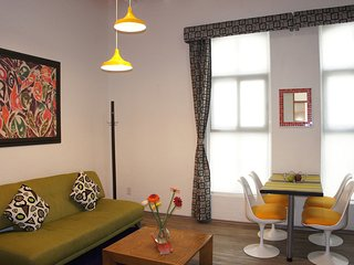 Fantastic Suite within adults-only urban retreat, near the WTC & La Condesa