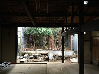 Garden Machiya in a Hidden Alley, Kyoto