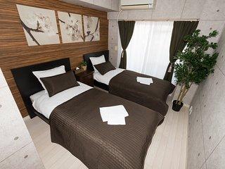 NEW! Warm&Clean Room Near Namba/Mobile WIFI 76