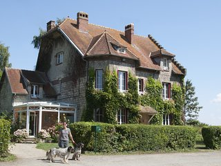 La ferme de Rouge Maison, near Chemin des Dames, Laon, Champagne region